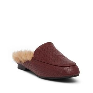 Catherine Malandrino Marja Faux Fur Slip-On Loafer